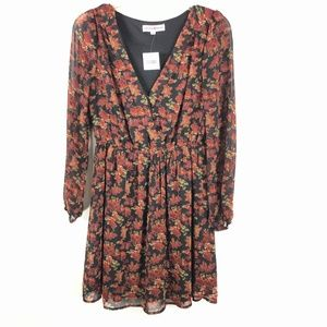 NWTAltar'd State Boho Floral Print Fit Flare Dress